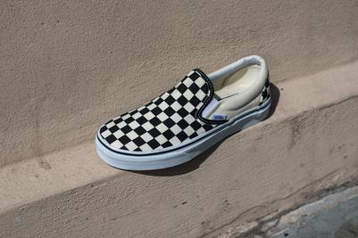 Vans Classic Checkerboard Slipon